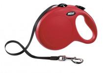 Flexi Classic NEW L pásek 8 m červené 50 kg