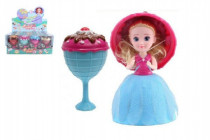 Panenka/Gelato/Cupcake - zmrzlinový pohár plast 16cm vonící - mix variant či barev