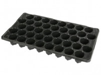 Sadbovač MINI JP plastový černý d5cm 42ks