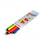Trojhranné pastelky Neon 6 barev, 3 mm