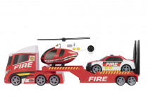 Teamsterz požární přeprava helikoptéry se zvukem a světlem