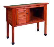 Králíkárna bez výběhu dřevo Duvo+ 80 x 40 x 73 cm