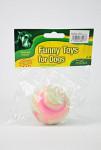 Hračka pes Míč Tvrdá guma 6 cm č.2