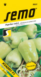 Semo Paprika zeleninová sladká F1 - Kvadry F1 na pole i k rychlení 15s