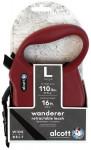 Alcott navíjecí v. Wanderer (do 49,8kg) - červené L 4,8m