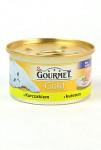 Gourmet Gold cat konz.-jemná paštika kuře a játra 85 g
