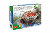 Malý konstruktér Helper Vyprošťovač 370 dílků kov stavebnice