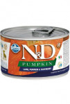 N&D DOG PUMPKIN Puppy Lamb & Blueberry Mini 140g - VÝPRODEJ