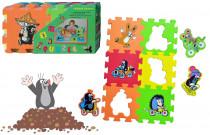 Pěnové puzzle 15x15 6ks - mix variant či barev