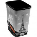 koš odpadkový 25l FLIP PARIS bez víka plastový
