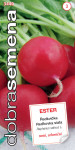 Dobrá semena Ředkvička červená - Ester raná 3g