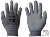 rukavice PURE GRAY PU 11 - VÝPRODEJ