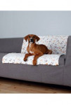 Deka pro psy LINGO bílo/béžová 100x75cm TR