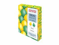 Barva na vajíčka OVO DUO zelená a žlutá 2x20ml