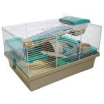 Klec hlod. křeček Pico hnědá/zelená RW 50 x 36 x 31 cm