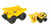 CAT Nákladní auto s rypadlem