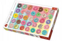 Puzzle Donuts koblihy 500 dílků 48x34cm