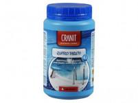 CRANIT QUATRO tablety 1kg, dez., proti řasám, vločkování, stabilizátor