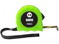 metr stáčecí 3m DAVID