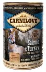 Carnilove WM konz. Salmon & Turkey Grain Free 400 g
