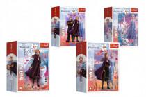 Puzzle mini 54 dílků Ledové království II/Frozen II 4 druhy