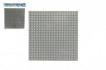 Podložka pro stavebnice plast 16x16cm