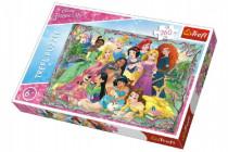 Puzzle Princezny 260 dílků 60x40cm