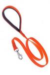 Vodítko nylon DAYTONA G-Ploché 120/25 oranžové FP 1ks