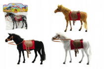 Kůň fliška 28cm - mix barev
