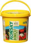 Koňský hnůj speciál s rohovinou - 6 kg kbelík