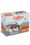 Calibra Cat kaps. Premium Adult multipack 12x100 g
