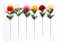 Květina CHRYZANTÉMA KVĚT X1 umělá 40cm