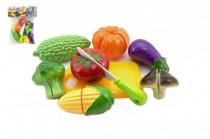 Krájecí ovoce a zelenina s nádobím plast 19x25cm