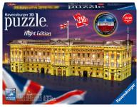 Ravensburger puzzle Buckinghamský palác (Noční edice) 216 dílků