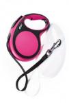 Vodítko flexi Comfort L pásek 8m/50kg růžová