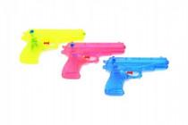 Vodní pistole plast 17cm - mix barev