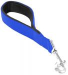 Vodítko nylon krátké Modrá DUVO+ 2,5 x 30 cm
