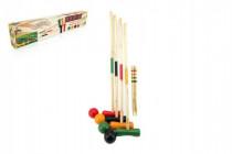 Hra Kroket dřevo pro 4 hráče