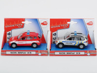 Auto Policie/Hasiči kovové, česká verze - mix variant či barev