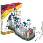 Puzzle 3D Zámek Neuschwanstein - 98 dílků - VÝPRODEJ