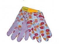 rukavice AVOCET bavlna/ plastové, terčíky