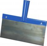 Škrabka s planžetou na led bez násady - modrá