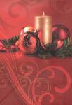 Dárková taška DAB, vánoční zátiší 32cm, DITIPO - VÝPRODEJ