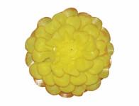 Květ JIŘINA umělý žlutý 8cm
