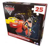 Pěnové puzzle 25 dílů Cars 3