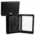Obchodní složka/diplomatka Guriatti Pocket se zipem A4-B-02 černá