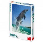 Puzzle Delfíni 33x47cm 500 dílků