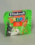 Vitakraft Rodent Rabbit poch. Drops Happy 40g - VÝPRODEJ