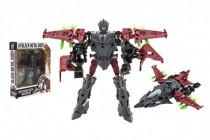 Transformer letadlo/robot plast 17cm