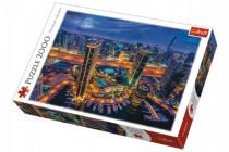 Puzzle Světla v Dubaji 2000 dílků 96x68cm